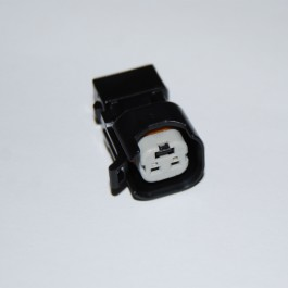 2-pin EV6/EV14/USCAR to 2-pin Junior mini timer connector adapter