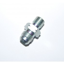Alloy male/male 6JIC to M12x1.5 adapter