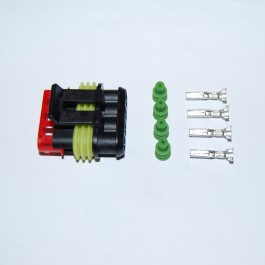Superseal 4-pin male connector