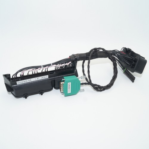 Astounding Emerald K6 Ecu Plug Play Adapter Vw Audi 1 8T Agu Engine Wiring Cloud Toolfoxcilixyz