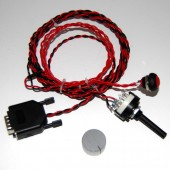 2-way Dashboard switch with button for Emerald ECU