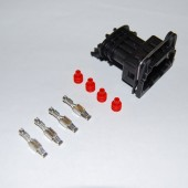 4-pin Junior mini timer plug with pins and seals (for External Ignition Module and other installations)