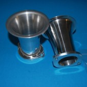 Jenvey Aluminium Air Horns 42x90mm