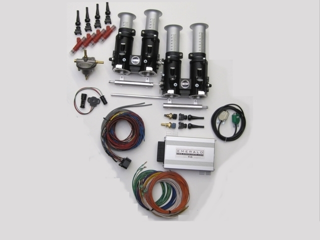 Generic Throttle body conversion kits for 4 cylinder engines
