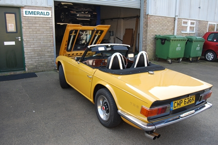 Beautiful TR6