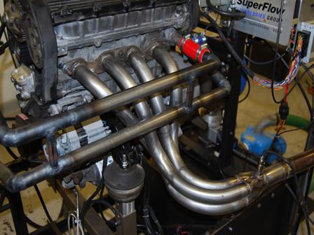 GBS manifold on dyno
