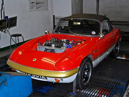 Zetec powered Classic Lotus Elan