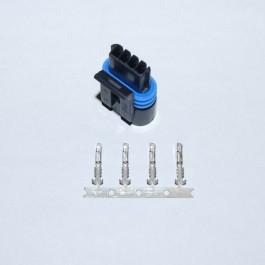 4-pin plug for Magneti Marelli Idle Speed Control Actuator