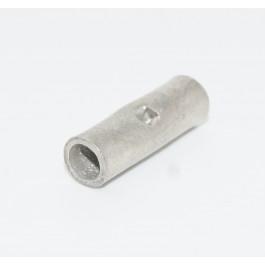 6mm2 Uninsulated (butt) through crimp terminal.