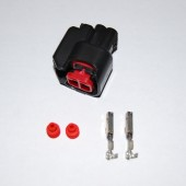 2-pin EV6/EV14/USCAR fuel injector connector, inc pins and seals