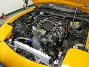 6.0l LS V8 in a Mazda RX7