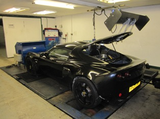Audi powered Exige ready for Mapping