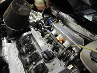 Audi 1.8T engine with COP ignition