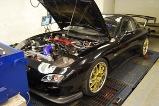 Another LS engined RX7 - common as muck!