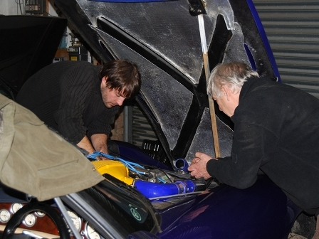 SC Power rectifying issues on TVR RV8