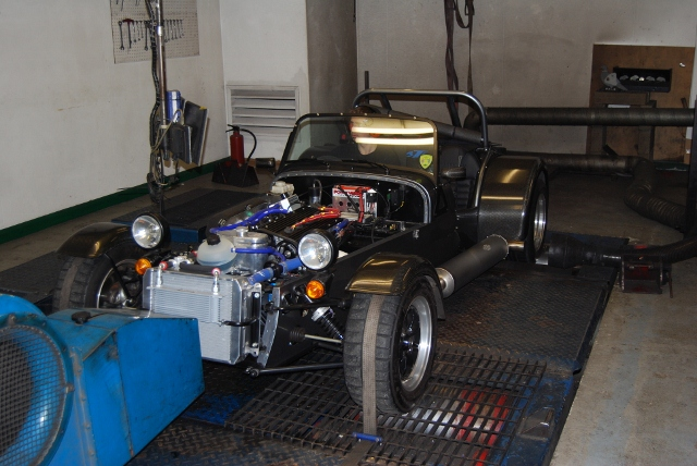 1900K again - this time in a Caterham