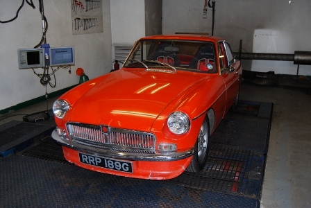 MGB now with a healthy gearbox