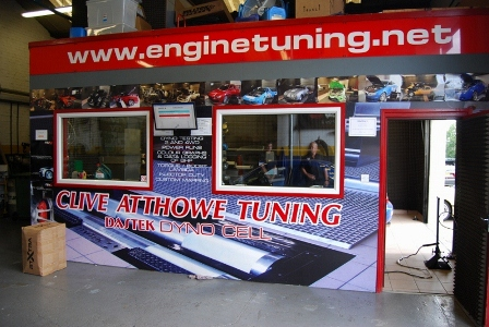 ...at Clive Atthowe Tuning
